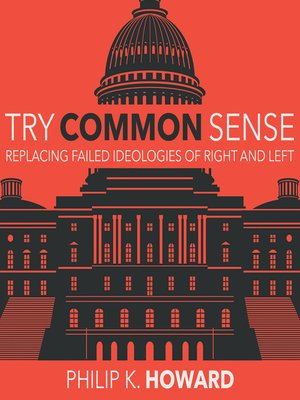 cover image of Try Common Sense